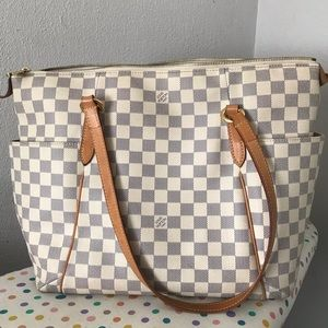 Louis Vuitton| Damier Azur Totally MM